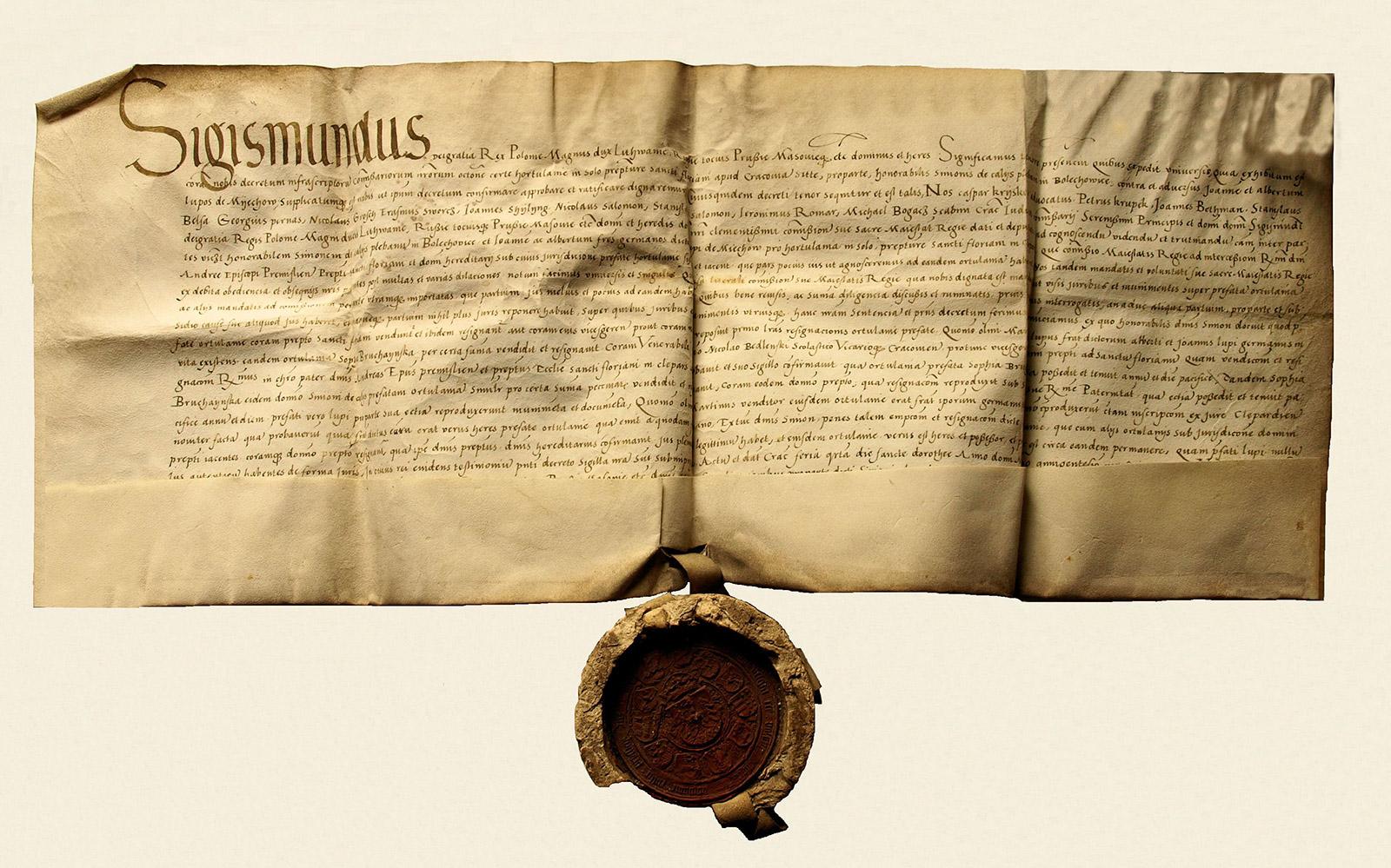 Sigismundus 1527 r.